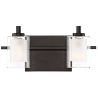 Kolt LED 13 inch Western Bronze Bath Light Wall Light