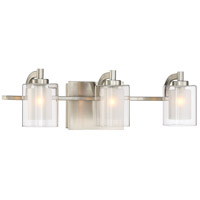 Quoizel KLT8603BNLED Kolt LED 21 inch Brushed Nickel Bath Light Wall Light  alternative photo thumbnail