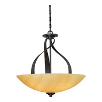Kyle 5 Light 24 inch Imperial Bronze Pendant Ceiling Light