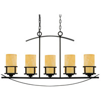Quoizel Lighting Kyle 5 Light Island Light in Imperial Bronze KY540IB