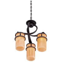 Quoizel KY5503IB Kyle 3 Light 17 inch Imperial Bronze Chandelier Ceiling Light, Naturals alternative photo thumbnail
