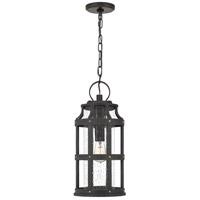 Quoizel LAS1909PN Lassiter 1 Light 9 inch Palladian Bronze Outdoor Hanging Lantern
