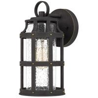 Quoizel LAS8406PN Lassiter 1 Light 12 inch Palladian Bronze Outdoor Wall Lantern