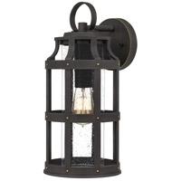 Quoizel LAS8407PN Lassiter 1 Light 16 inch Palladian Bronze Outdoor Wall Lantern