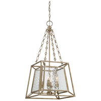 Quoizel LKE5204VG Lakeside 4 Light 15 inch Vintage Gold Foyer Chandelier Ceiling Light