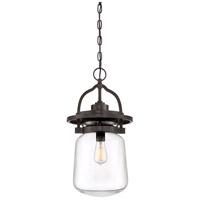 Quoizel LLE1911WT LaSalle 1 Light 11 inch Western Bronze Outdoor Hanging Lantern