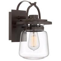 Quoizel LLE8407WT Lasalle 1 Light 12 inch Western Bronze Outdoor Wall Lantern