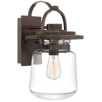 Quoizel LLE8409WT LaSalle 1 Light 16 inch Western Bronze Outdoor Wall Lantern photo thumbnail