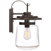 Quoizel LLE8409WT LaSalle 1 Light 16 inch Western Bronze Outdoor Wall Lantern alternative photo thumbnail