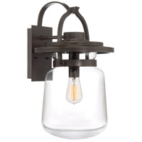 Quoizel LLE8411WT LaSalle 1 Light 20 inch Western Bronze Outdoor Wall Lantern