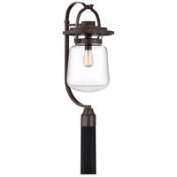 Quoizel LLE9011WT LaSalle 1 Light 27 inch Western Bronze Outdoor Post Lantern