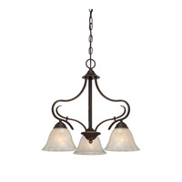Quoizel Lighting Lillian 3 Light Chandelier in Palladian Bronze LLN5103PN