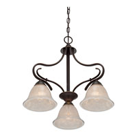 Quoizel Lighting Lillian 3 Light Chandelier in Palladian Bronze LLN5103PN alternative photo thumbnail