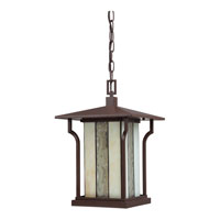 Quoizel Lighting Langston 1 Light Outdoor Hanging Lantern in Chocolate Bronze LNG1911CHB alternative photo thumbnail