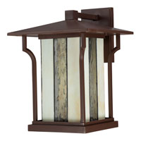 Quoizel Lighting Langston 1 Light Outdoor Wall Lantern in Chocolate Bronze LNG8411CHB alternative photo thumbnail