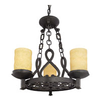 Quoizel Lighting La Parra 3 Light Chandelier in Imperial Bronze LP5003IB