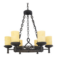 Quoizel LP5006IB La Parra 6 Light 28 inch Imperial Bronze Chandelier Ceiling Light alternative photo thumbnail