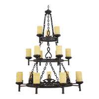 Quoizel La Parra 18 Light Foyer Chandelier in Imperial Bronze LP5018IB