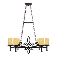 La Parra 6 Light 38 inch Imperial Bronze Island Light Ceiling Light