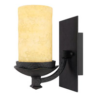 La Parra 1 Light 7 inch Imperial Bronze Bath Light Wall Light