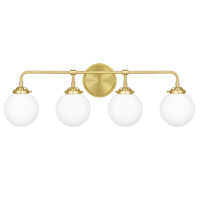 Quoizel LRY8632Y Landry 4 Light 32 inch Satin Brass Bath Light Wall Light