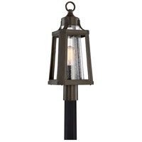 Lighthouse 1 Light 22 inch Palladian Bronze Outdoor Post Lantern