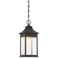 Livingston 8 inch Imperial Bronze Outdoor Hanging Lantern