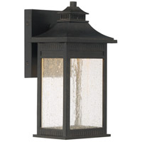 Livingston 11 inch Imperial Bronze Outdoor Wall Lantern