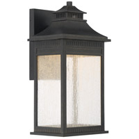 Livingston 17 inch Imperial Bronze Outdoor Wall Lantern