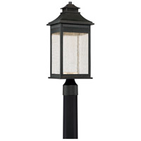 Livingston 20 inch Imperial Bronze Outdoor Post Lantern