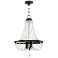 Quoizel LVY2821WT Livery 4 Light 21 inch Western Bronze Pendant Ceiling Light