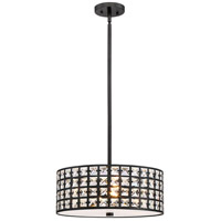 Luxury 4 Light 17 inch Imperial Bronze Pendant Ceiling Light
