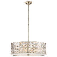 Luxury 5 Light 22 inch Vintage Gold Pendant Ceiling Light