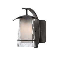 Quoizel Lighting Mayfair 1 Light Outdoor Wall Lantern in Iron Age MAF8406IR