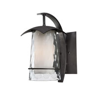 Quoizel Lighting Mayfair 1 Light Outdoor Wall Lantern in Iron Age MAF8407IR