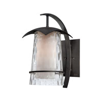 Quoizel Lighting Mayfair 1 Light Outdoor Wall Lantern in Iron Age MAF8409IR