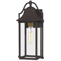 Quoizel MAN8407WT Manning 1 Light 15 inch Western Bronze Outdoor Wall Lantern