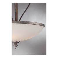 Quoizel Lighting Maya 4 Light Pendant in Mottled Silver MAY2821MM alternative photo thumbnail