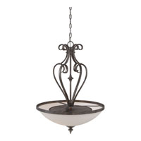 Quoizel Lighting Maya 4 Light Pendant in Mottled Silver MAY2821MM alternative photo thumbnail