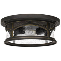 Quoizel MBH1613PN Marblehead 2 Light 13 inch Palladian Bronze Outdoor Flush Mount alternative photo thumbnail