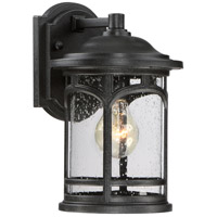 Quoizel Marblehead 1 Light Outdoor Wall Lantern in Mystic Black MBH8407K