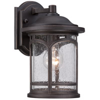 Quoizel Marblehead 1 Light Outdoor Wall in Palladian Bronze MBH8407PN