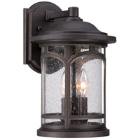 Quoizel Marblehead 3 Light Outdoor Wall in Palladian Bronze MBH8409PN