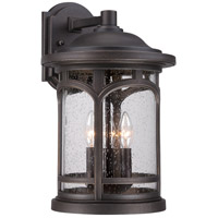 Marblehead 3 Light 18 inch Palladian Bronze Outdoor Wall