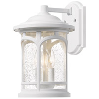 Quoizel MBH8411W Marblehead 3 Light 18 inch Fresco Outdoor Wall Lantern
