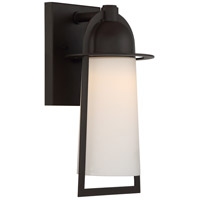 Quoizel Malibu LED Outdoor Wall Lantern in Western Bronze MBU8407WT