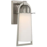 Quoizel Malibu LED Outdoor Wall Lantern in Stainless Steel MBU8408SS