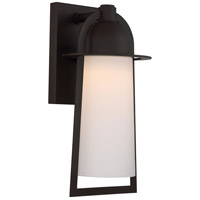 Quoizel Malibu LED Outdoor Wall Lantern in Western Bronze MBU8408WT