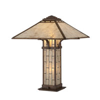 Quoizel Lighting Mica 1 Light Table Lamp in Bronze MC1196T