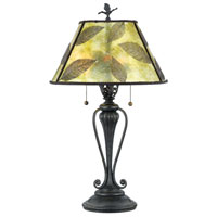 Quoizel Lighting Mica 2 Light Table Lamp in Bronze MC410T